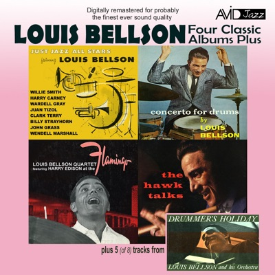 Four Classic Albums Plus - Just Jazz All Stars / Concerto for Drums / At the Flamingo / The Hawk Talks (Remastered) - Louie Bellson