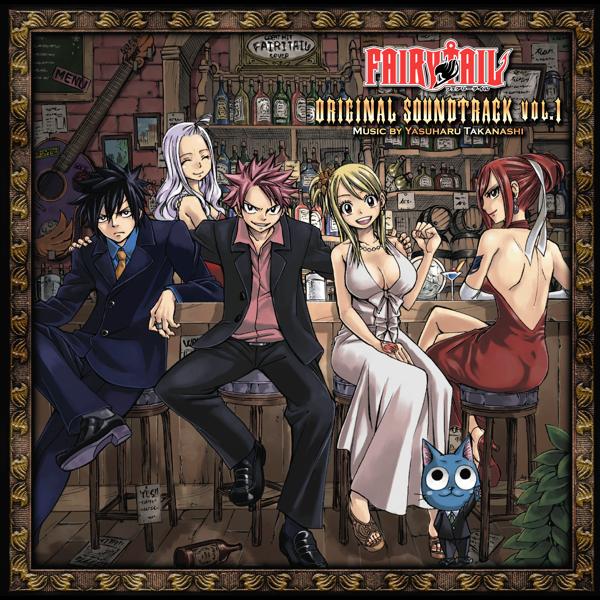 Fairy Tail Original Soundtrack Vol 1 By Yasuharu Takanashi