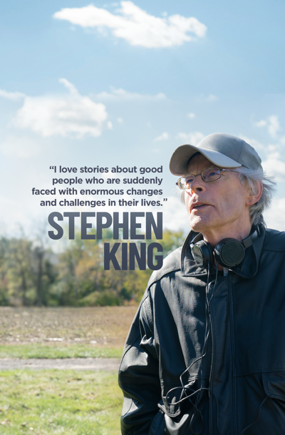 Movies and shows inspired and created by Stephen King.