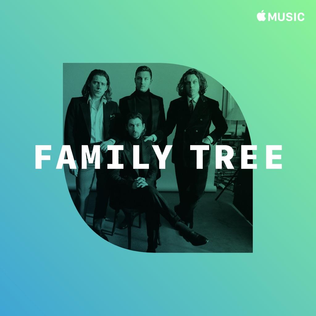 Arctic Monkeys: Family Tree