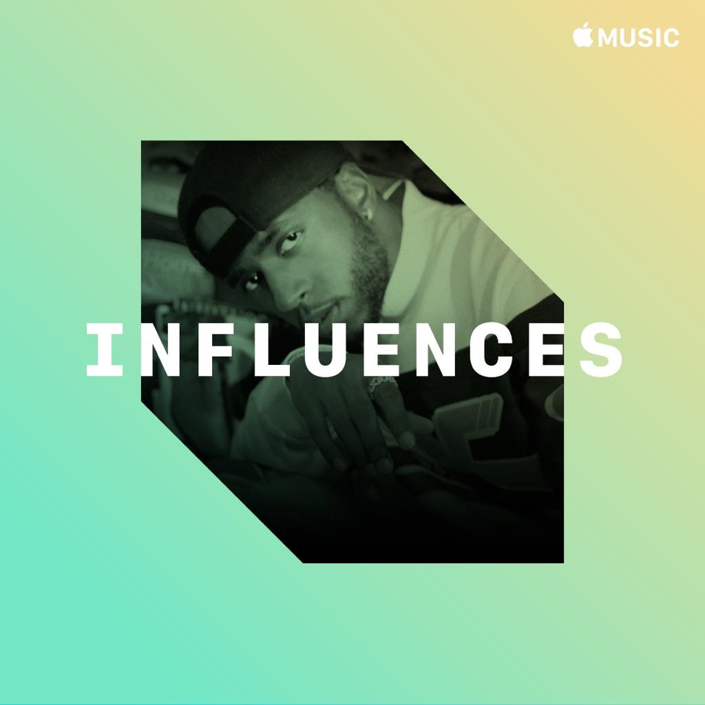 6LACK: Influences
