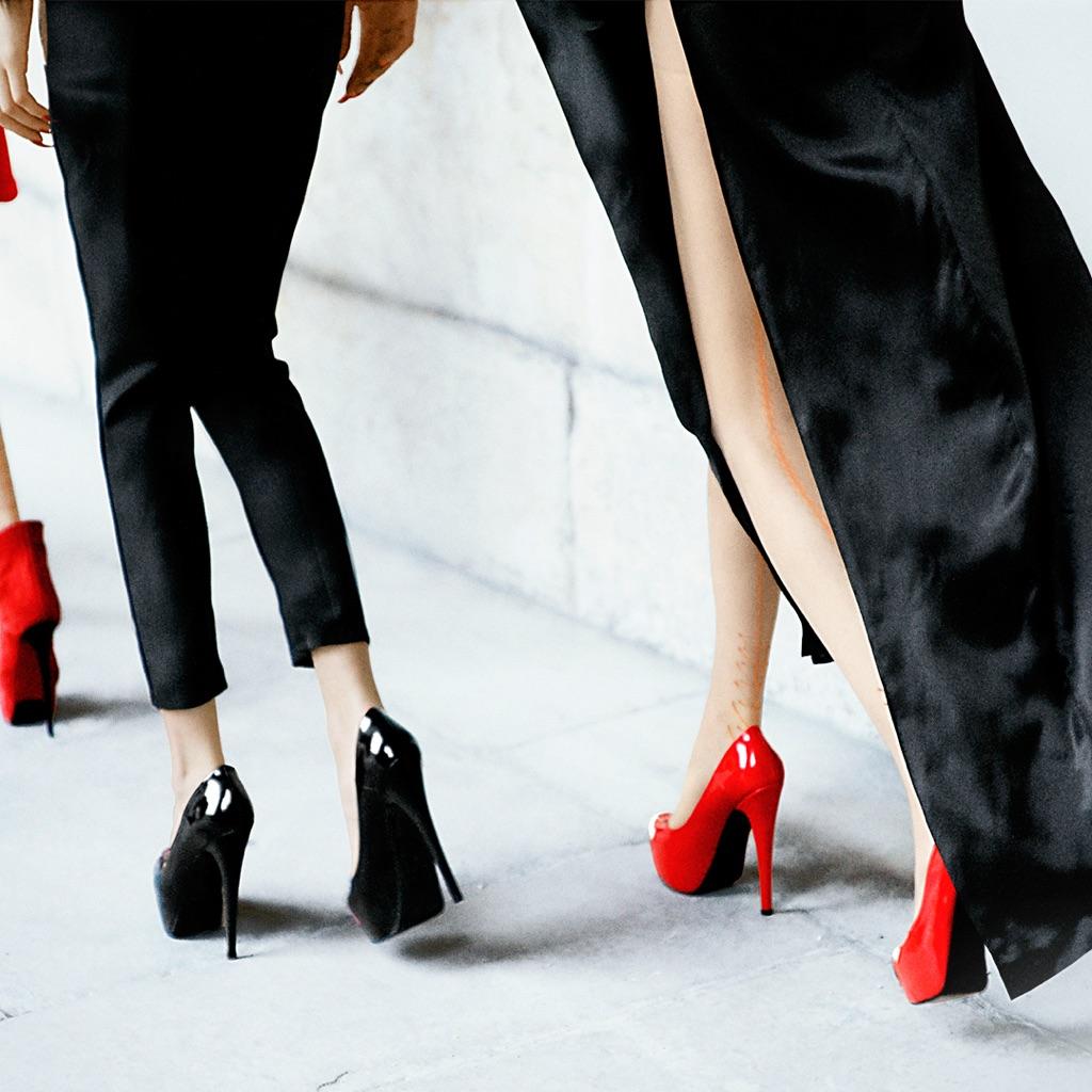 Fashion Runway Strut