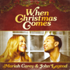 Mariah Carey & John Legend - When Christmas Comes artwork