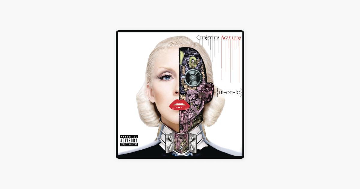 christina aguilera bionic album sales