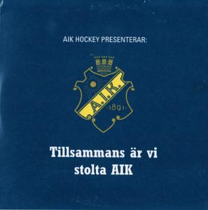 Live Globen - Å vi é AIK