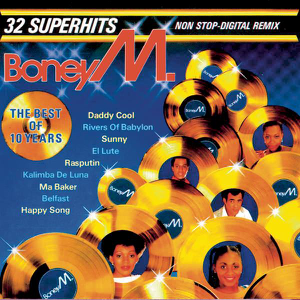 Boney M. - Boney M. - The Best of 10 Years (Non-Stop Remix Version)