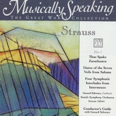 Strauss Adinet, Gerard Schwarz, Seattle Symphony Orchestra - Strauss: Guide to Four Symphonic Interludes