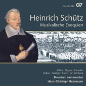 Hans-Christoph Rademann & Dresden Chamber Choir - Ich bin die Auferstehung, SWV 464