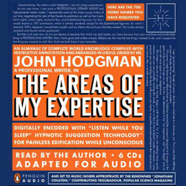 The Areas of My Expertise audiobook