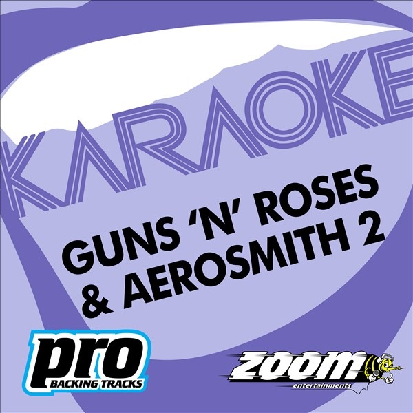 Zoom Karaoke: Guns 'N' Roses & Aerosmith, Vol  2 by Zoom Karaoke