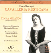 Mascagni: Cavaleria Rusticana  Milanov, Gismondo, Rayson  Cellini-Mascagni: Cavaleria Rusticana - Milanov, Gismondo, Rayson - Cellini