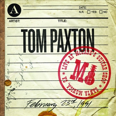 Live At McCabe's (February 23rd, 1991) - Tom Paxton
