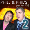 USP Content - The Perfect Ten with Phill Jupitus & Phil Wilding: Volume 2 (Unabridged)  artwork