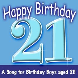 happy birthday boy age 21 by ingrid dumosch the london fox