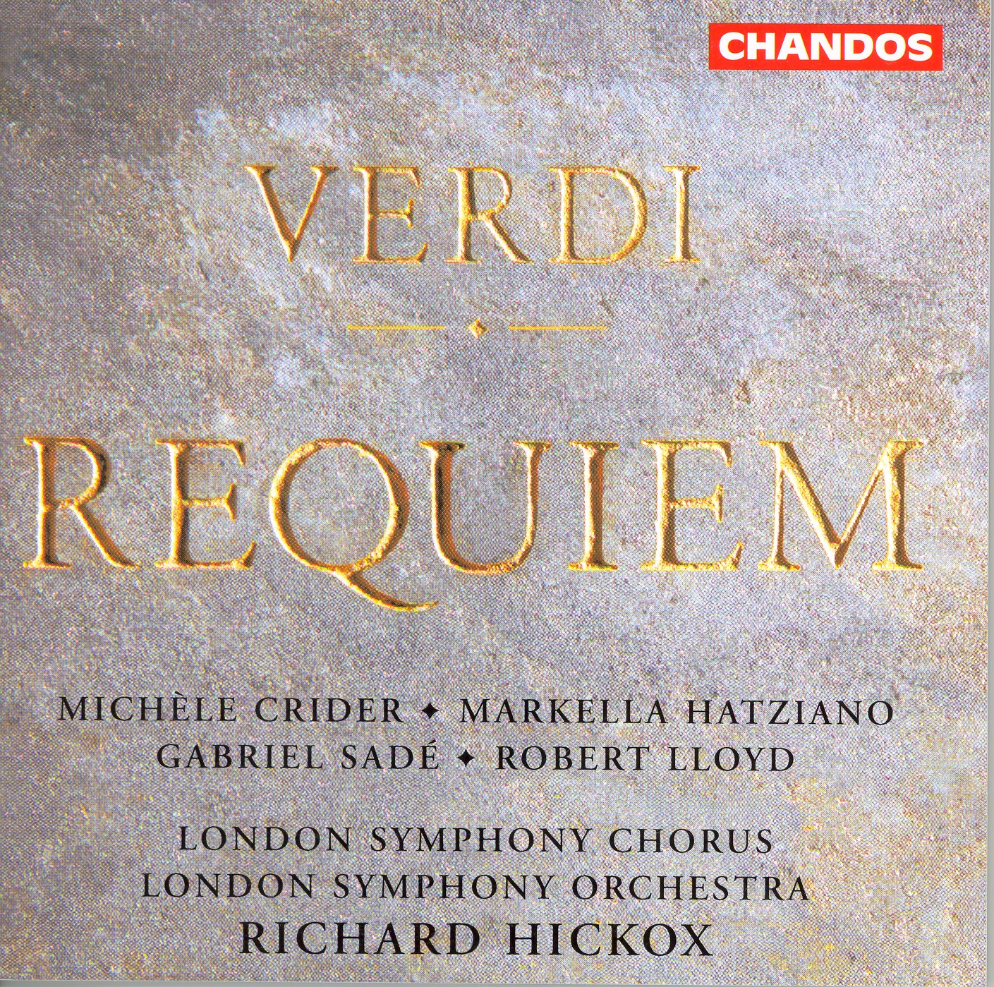 Messa Da Requiem: Dies Irae: Rex Tremendae —