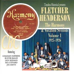 Fletcher Henderson the Harmony & Vocalion Sessions Volume 1 1925-1926