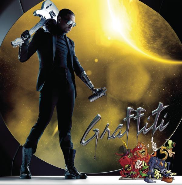 Graffiti (Deluxe Version) by Chris Brown X Album Cover Chris Brown