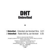 Uninvited - EP