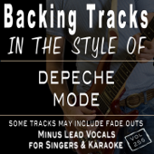 Backing Tracks - in the style of Depeche Mode (Backing Tracks)