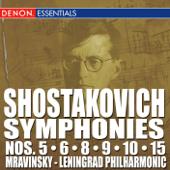 Shostakovich: Symphonies Nos. 5, 6, 8, 9, 10 & 15