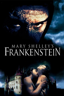Poster of Mary Shelley's Frankenstein 1994 Full Hindi Dual Audio Movie Download BluRay 720p