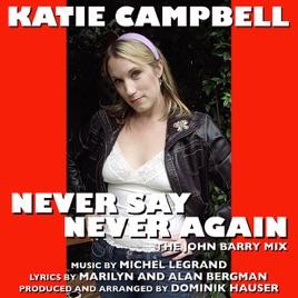 Michel Legrand Never Say Never Again Original Soundtrack Recording