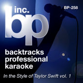Love Story (Instrumental Track) [Karaoke In The Style Of Taylor Swift]-BP Studio Musicians