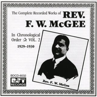 Rev. F.W. McGee