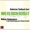 William Shakespeare - Wie es euch gefällt Grafik