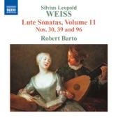 """Robert Barto - Weiss: Lute Sonata No. 39 in C major """"Partita Grande"""": IV. Sarabande"""