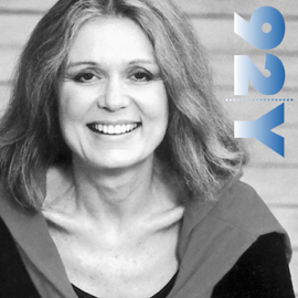 Gloria Steinem with Marie Wilson at the 92nd Street Y audiobook