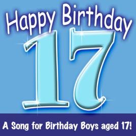 Happy Birthday Boy Age 17 Ingrid DuMosch