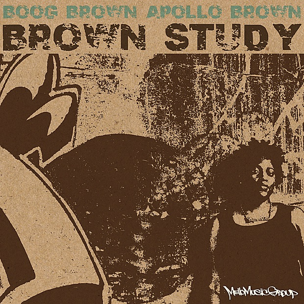 Boog Brown & Apollo Brown - Brown Study - 2010 - BT Kitty
