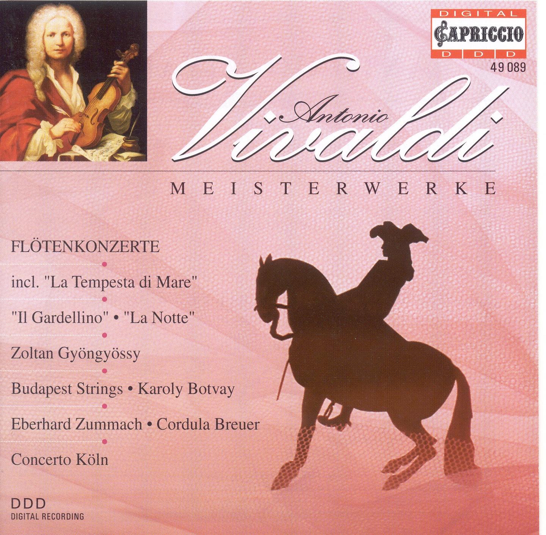 Vivaldi, A.: Recorder Concertos, Rv 433, 439, 441 - Flute Concertos, Rv 428, 434 - Flautino Concertos, Rv 443, 444
