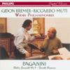 Paganini: Violin Concerto No.4, Suonata Varsavia - Gidon Kremer, Riccardo Muti & Wiener Philharmoniker