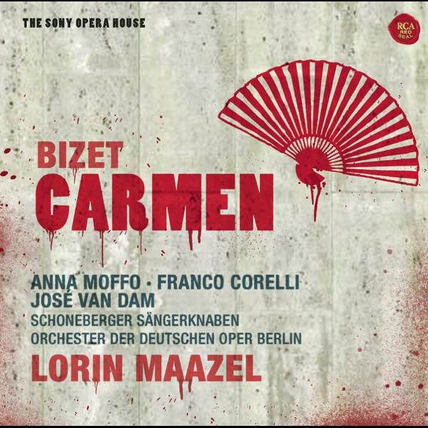 Bizet: Carmen by Lorin Maazel, Anna Moffo, Arleen Auger, Barry ...