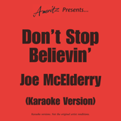 [Download] Don't Stop Believin' (In The Style Of Joe McElderry) MP3