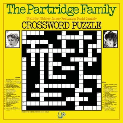 Crossword Puzzle - The Partridge Family