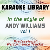 [Download] Moon River (Karaoke Version No Backing Vocal) [In the Style of Andy Williams] MP3
