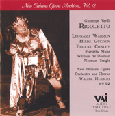Verdi: Rigoletto (Historic 1952 Live Recording)