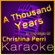 A Thousand Years (In the Style of Christina Perri) [Karaoke With Backing Vocal Version] - High Frequency Karaoke