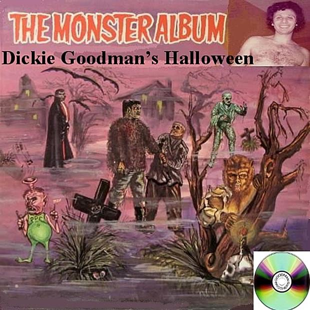 The Monster Album - Dickie Goodman's Halloween (Out of Print,,Re-mastered,Collection,Bonus Tracks,Promotional)