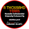 Karaoke All Hits - A Thousand Years (Originally Performed By Christina Perri) [Audio Karaoke Instrumental] artwork