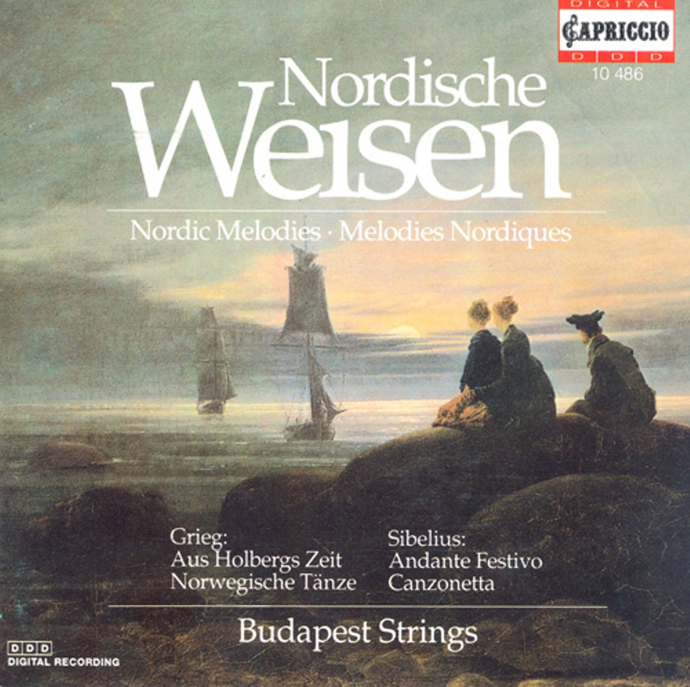 Grieg, E.: From Holberg's Time - 2 Nordic Melodies - Suite Champetre - Romance, Op. 42 (Nordic Melodies)