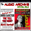 Edgar Allan Poe - The Tell Tale Heart, starring Boris Karloff (Unabridged)  artwork
