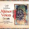 Aliénor Voices - Lumen, Chant Grégorien, Monodies Et Polyphonies Médiévales Du IX Au XIIème Siècle  arte