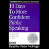The Princeton Language Institute and Lenny Laskowski - 10 Days to More Confident Public Speaking artwork