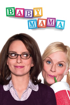 Poster of Baby Mama 2008 Full Hindi Dual Audio Movie Download BluRay 720p