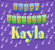 Download Happy Birthday Kayla (Vocal - Traditional Happy Birthday Song Sung to Kayla) - Ingrid DuMosch Mp3