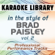 Mud On the Tires (Full Vocal Version) [In the Style of Brad Paisley] - Karaoke Library